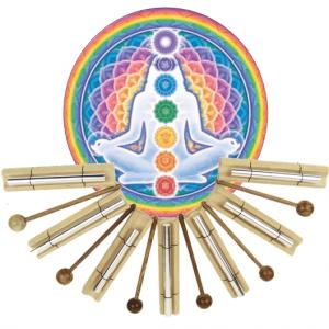 Sounding rods Chakra Healing