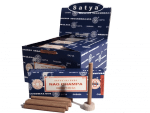Satya Incense Nag Champa Dhoop (12 packets)