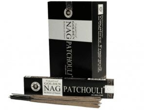 Golden Nag Incense Patchouli (12 packets)