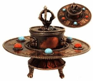 Tibetan Metal Incense Burner