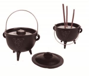 Cauldron Triquetra Symbol