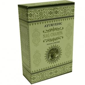 Incense Ayurvedic Masala Nag Champa (12 packets)