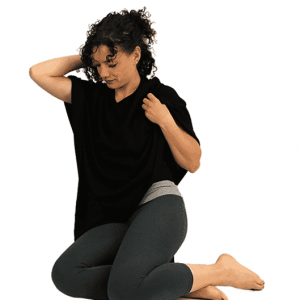 Meditation Poncho Cashmere Black
