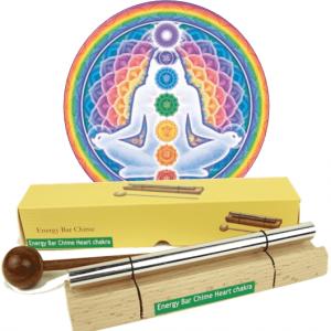 Sounding rod Chakra Healing 4th Chakra (13.6 cm)