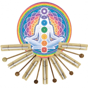Sound rods set Chakra Healing Tone