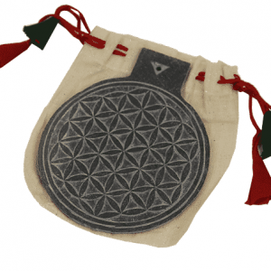 Slate Relief Flower of Life (20 cm)