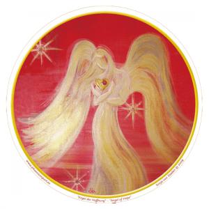 Window sticker Angel or Hope