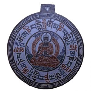 Slate Relief Buddha OMPMH