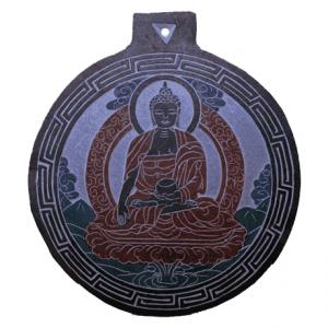 Slate Relief Buddha