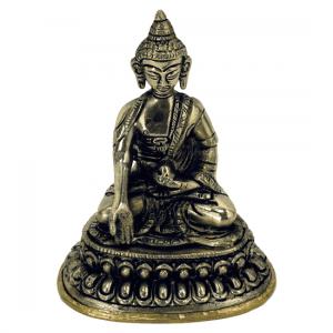 Little statue Buddha Ratnasambhava - 10 cm - 330 grams