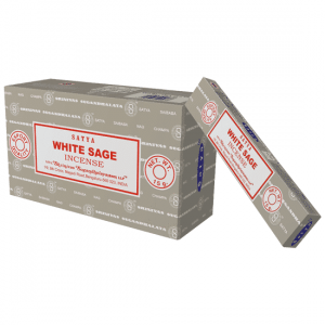 Satya Incense White Sage (12 packages)