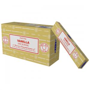 Satya Incense Vanilla (12 packages)