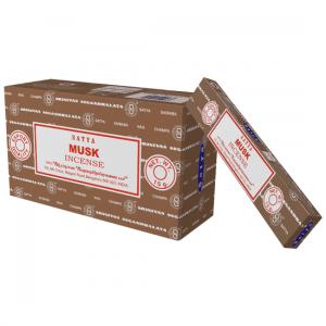 Satya Incense Musk (12 packages)