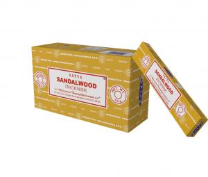 Satya Incense Sandalwood (12 packages)