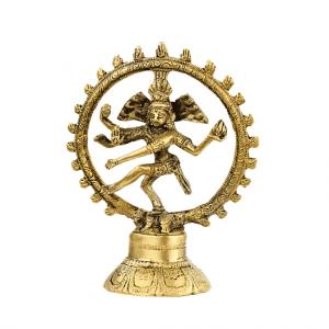 Shiva Nataraj Brass - 13 cm