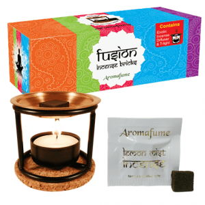 Aromafume Incense Tryer set with Incense Evaporator