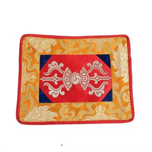 Singing Bowl Dress Dorje Brocade (Red Yellow)