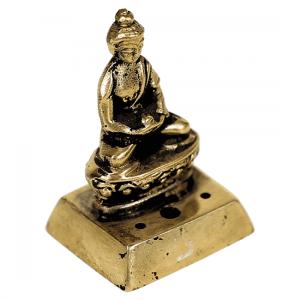 Incense burner Buddha Brass - 4.5 cm