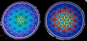 Window sticker Flower of Life Mandala