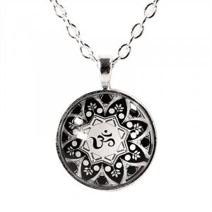 Necklace OHM Mandala