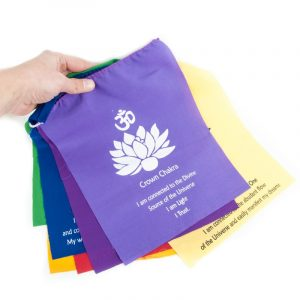 7 Chakra flags Cord Affirmations