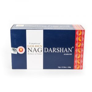 Golden Nag Incense Darshan (12 packets)