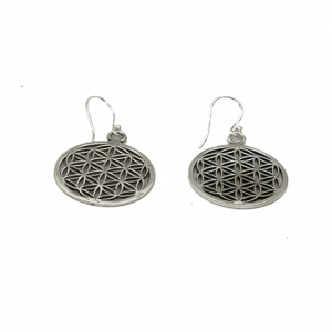 Flower of Life Earrings 925 Silver