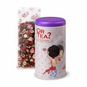 Or Tea La Vie and Rose Black Tea Rose Loose Tea