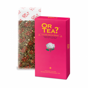 Or Tea Lychee White Peony refill pack BIO