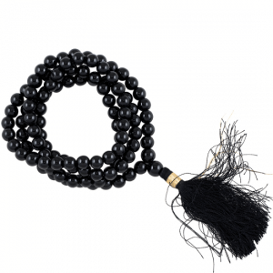 Mala Onyx Black AA Quality 108 Beads
