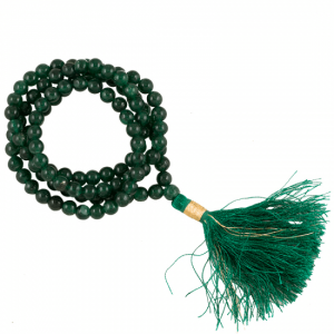 Mala Aventurine AA Quality 108 Beads with Bag