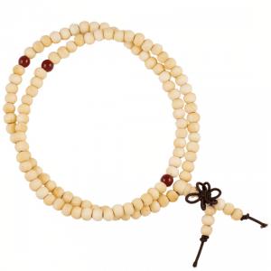 Mala Bracelet Elastic Wood