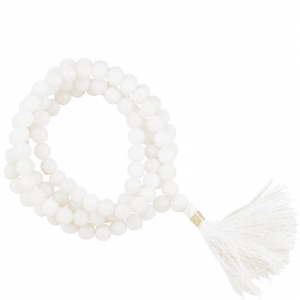 Mala Agate White 108 Beads