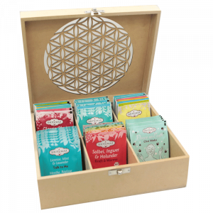 Tea Box Flower of Life