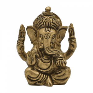Ganesha Brass Thumbnail - 5 cm