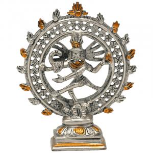 Shiva Nataraja Double Ring Double Ring Two-colour - 15 cm