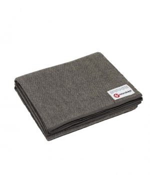 Manduka Recycled Wool blanket - Sediment