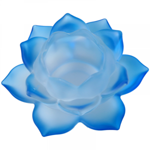Atmospheric light Lotus Glass Blue