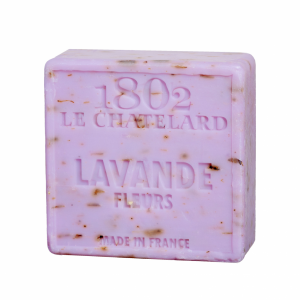 Natural Marseille Soap Lavender Flour (Square)