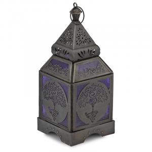 Atmospheric Light Oriental Lantern Yoga Tree