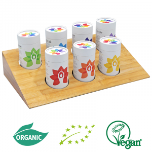 Solaris 7 Chakra's Organic Tea (Set of 7 Flavour Tea)
