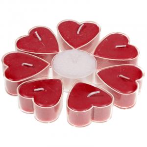 Fair Trade Heart-shaped Odour Cards Rose