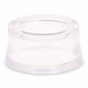 Transparante standaard voor edelsteenballen