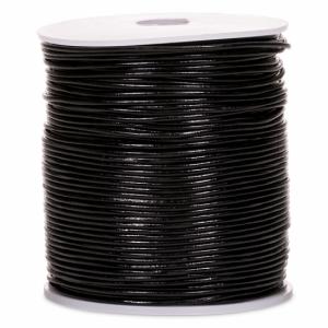 Carcine Leather Cord Black (100 metres)