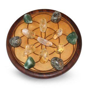 Precious stone grid Prosperity