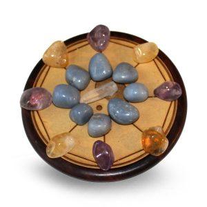 Gemstone grid Blessings