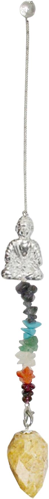 Pendulum - Chakra Buddha Golden