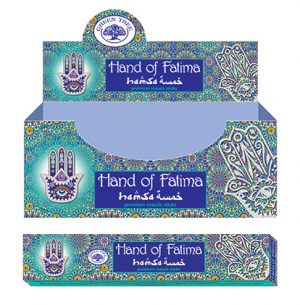 Green Tree Incense Hand Of Fatima (12 packets)
