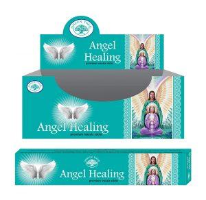 Green Tree Incense Angel Healing Masala (12 packets)