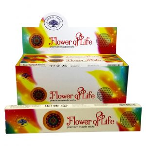 Green Tree Incense Flower of Life Masala (12 packs)